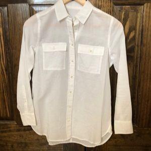 J. Crew Cotton/Linen Shirt